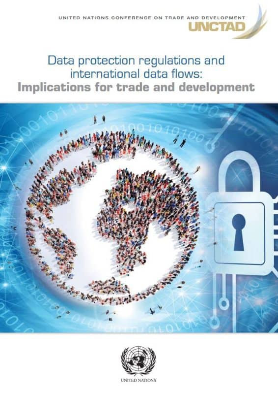 UNCTAD report on Data protection