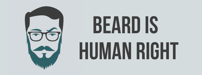Beard is human right